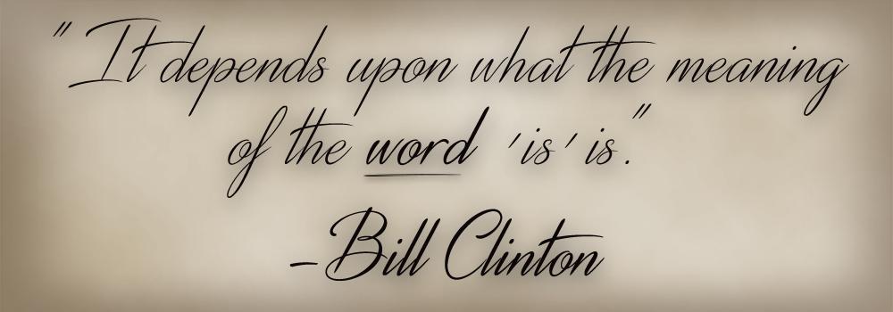 <Bill Clinton>