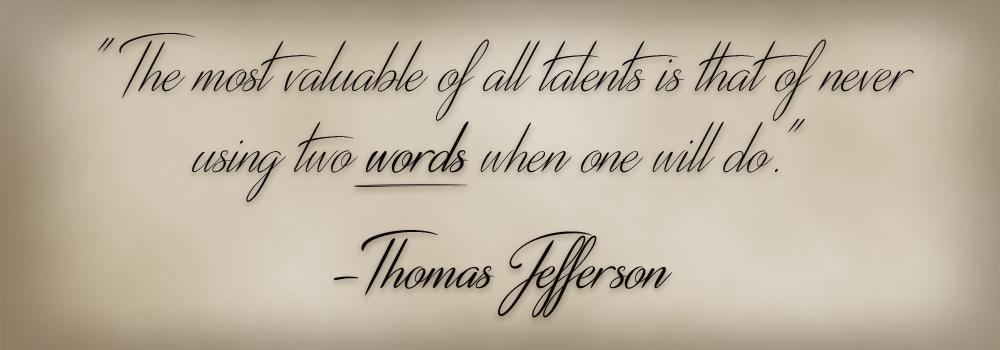 <Thomas Jefferson>